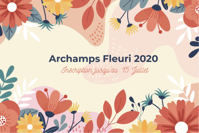 Archamps fleuri 2020