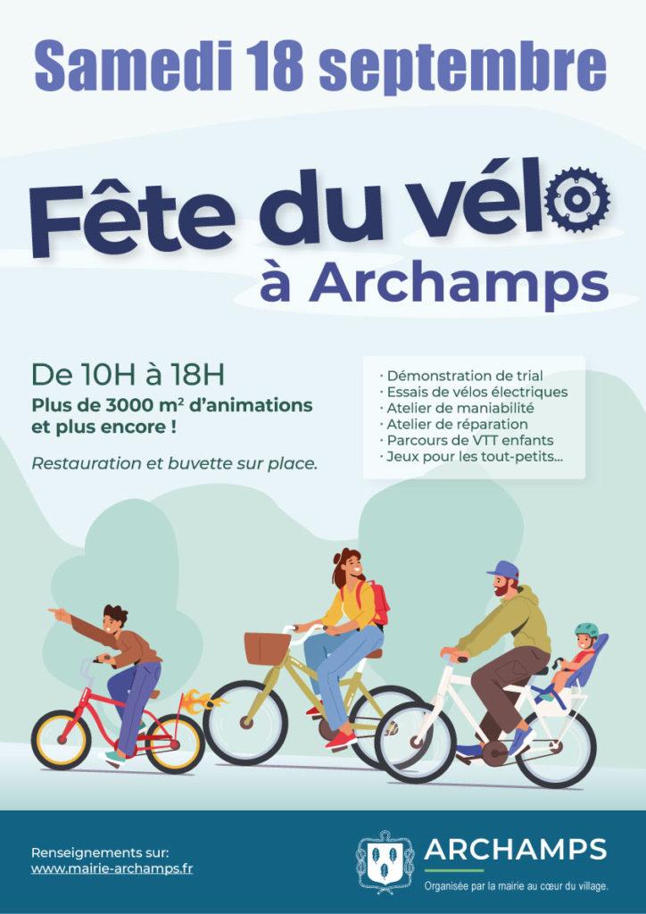 Fête du vélo le 18 septembre 2021